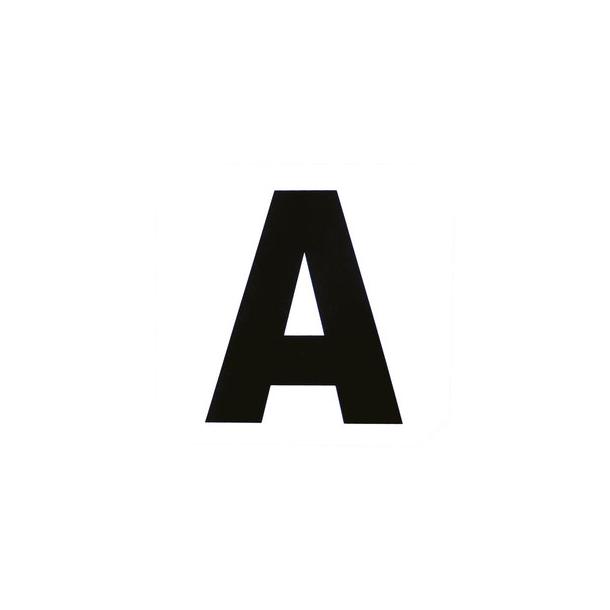 Bogstaver klistermærker til dressurbane