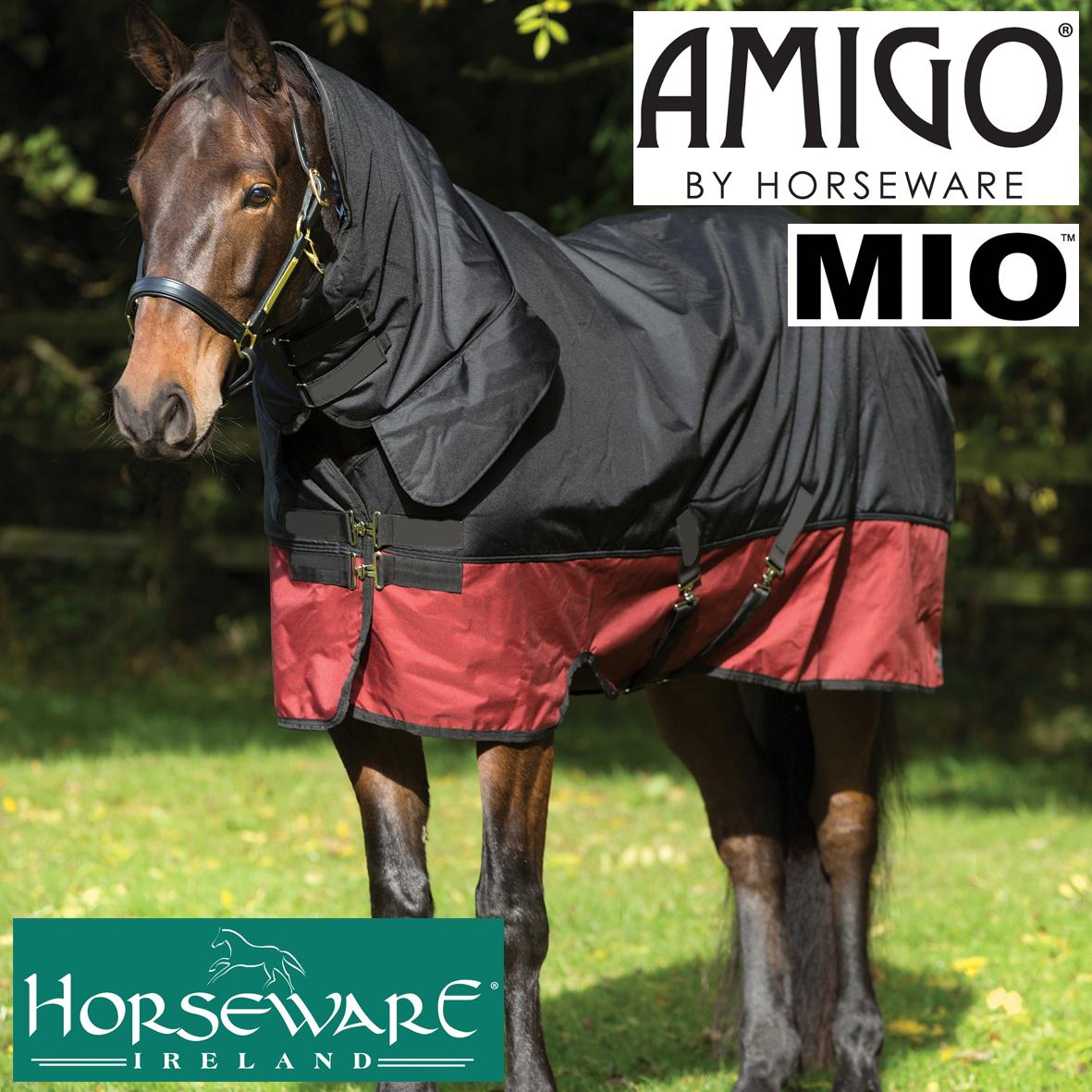 Amigo Mio Vinterdækken Med Hals Vinter Folddækkener 200 400 G Klindt Rideudstyr