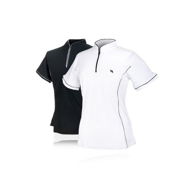 Back on track T-shirt med lynlås, slim fit
